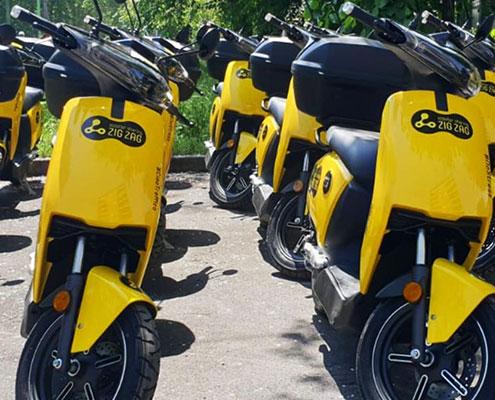 frotas empresas motas motociclos entrega comida voltstore