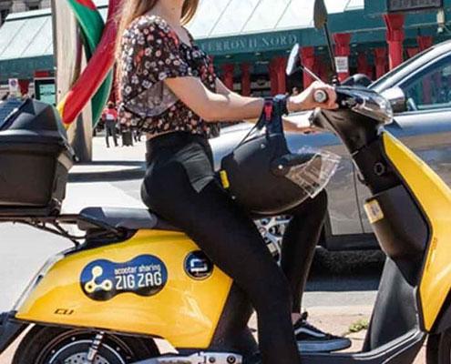 frotas empresas motas motociclos entrega encomendas voltstore