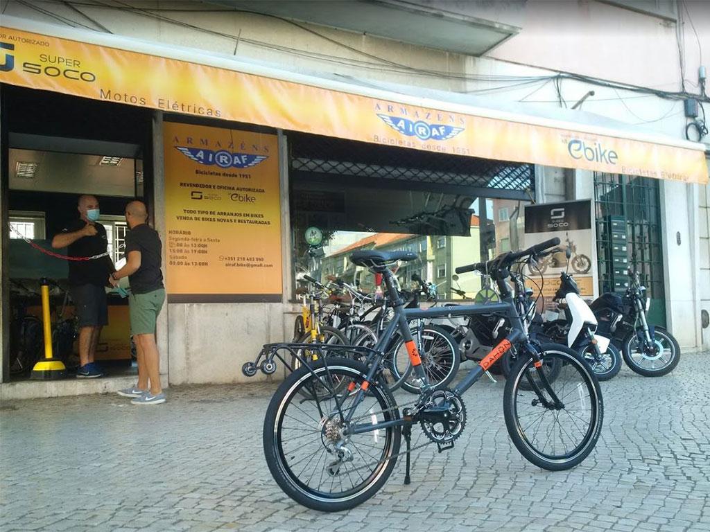 Loja de assistência motas elétricas e bicicletas elétricas Lisboa - Fale connosco