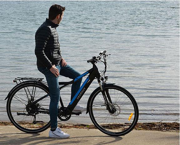 test-drive bicicleta elétrica Voltstore