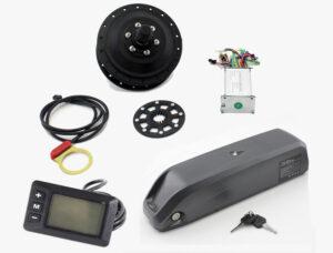 KIT BASICO 11.6AH FRONTAL TRASEIRO SEM- MONTAGEM - Kit Light 250W Quadro Fechado
