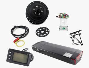 KIT UPGRADE 11.6AH-FRONTAL TRASEIRO SEM MONTAGEM - Kit Light 250W Quadro Dobrável