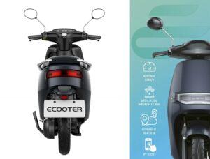 Mota Scooter elétrica Ecooter E2 (equiv125cc)