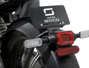 Mota Scooter elétrica Super Soco TC (equiv50cc) Voltstore