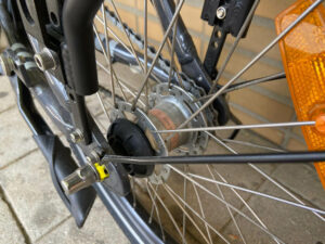 Bicicleta eletrica Plimoa dobravel Voltstore